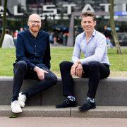 Sander van Schaik en Maarten Polkamp